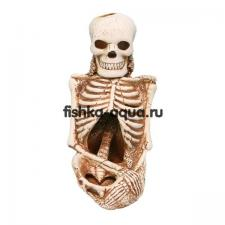 Керамическая декорация для аквариума - Скелет