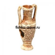 Керамическая декорация для аквариума - Кувшин средний